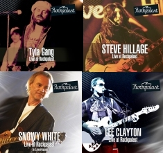 Tyla Gang - Steve Hillage - Snowy White - Lee Clayton