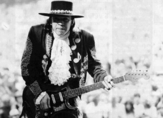 Stevie Ray Vaughan Foto WDR/Manfred Becker