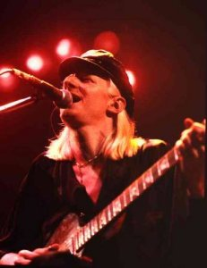 Johnny Winter Foto WDR/Manfred Becker